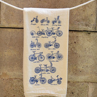 Cycles of Life Dish Towel