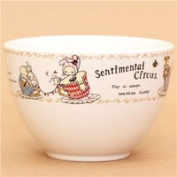 kawaii Sentimental Circus ceramics mug bowl by San-X - Cups-Mugs - Bento Boxes