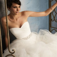Blu by Mori Lee 5172 Tulle Wedding Dress