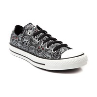 Converse All Star Lo Skulls Sneaker, Black | Journeys Shoes