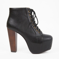 Riza Lace Up Boots $47