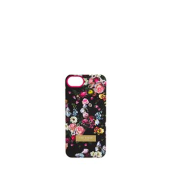 Ted Baker Tanalia Black Oil Blossom Print iPhone Hardcase at asos.com