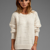 By Malene Birger Autumn Alpaca Purlisha Sweater in Cream from REVOLVEclothing.com