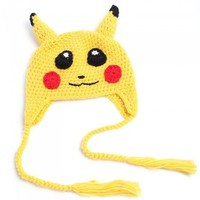 Pokemon Pikachu I-Choose-You Knitted Children's Hat