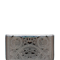 Stained-Glass-Holographic-Clutch PEWTER - GoJane.com