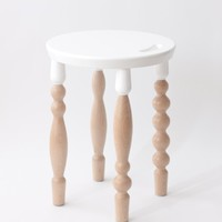 Alpdesign Stool (White Top) from alp | Made By alpdesign | £260.00 | BOUF