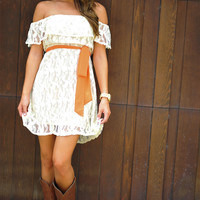 It Shore Feels Nice Dress: Ivory | Hope's