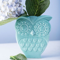 Owl That Jazz Vase | Mod Retro Vintage Kitchen | ModCloth.com