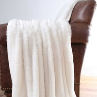 Serengeti Faux Fur Throw