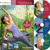 Yoga for Weight Loss (Deluxe 3 DVD set with over 30 routines)):Amazon: