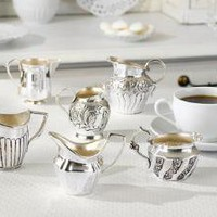 Essex Silver Creamer Set of 6