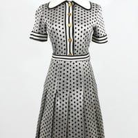 Polka Dot Dress / 70s Dress / Day Dress / Vintage Dresses