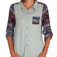 Daytrip Pieced Southwest Shirt - Women's Shirts/Tops | Buckle