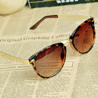 2Cat Eye OverSized Round Sunglasses