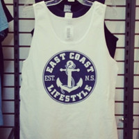 White Anchor Tank