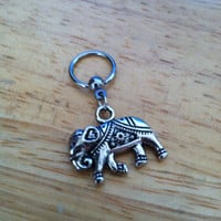 Elephant captive bead ring - Belly Button Ring, Nipple Ring, Cartilage - Body Jewelry