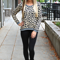 Laid Back Leopard Sweater