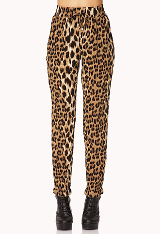 Find and save ideas about Leopard print pants on Pinterest. | See more ideas about Leopard pants outfit, Leopard pants and Animal print occasion dresses. PH12 Celebrity Style Casual Loose FIT Leopard Print Harem Pants Trousers | eBay Love the cheetah pants If I were skinnier.