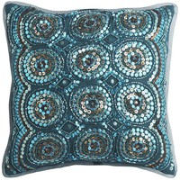 Sequin Circles Pillow