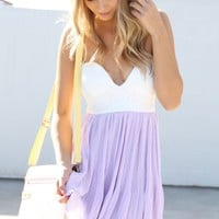 SABO SKIRT  Lavender Tea Dress - $68.00