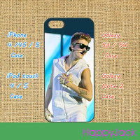 Justin Bieber - iphone 4 case, iPhone 5 case,ipod 5 case,ipod 4 case, samsung galaxy S3 , samsung galaxy S4, Blackberry Z10, Q10