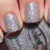 ★Color Club★ Magic Attraction - Silver Holographic Holo Glitter Nail Polish