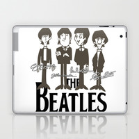 The Beatles Laptop & iPad Skin by PSimages