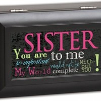 Cottage Garden Sister Matte Black Petite Music Box / Jewelry Box Plays You Light Up My Life:Amazon:Toys & Games