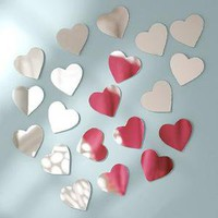 Mini Heart Mirrors | PBteen