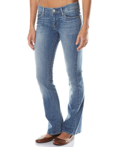 SURFSTITCH - WOMENS - JEANS - STRAIGHT - LEVI`S DEMI CURVE SKINNY BOOT JEAN - NEW RAINDROP