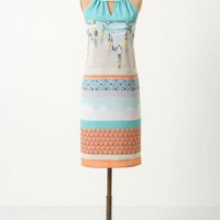 Beach Themed Halter Dress by Rozae Nichols