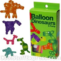 Dinosaurs Balloon Making Kit With Pump, Fun & Unique Gifts