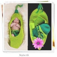 Shipping/newborn/kids Baby Knitted Hat,romper,crochet Diaper Covers, Photography Props:Amazon:Baby