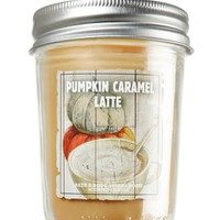 Pumpkin Caramel Latte 6 oz. Mason Jar Candle   - Slatkin & Co. - Bath & Body Works