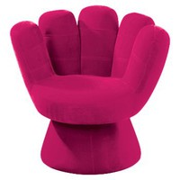 LumiSource Solid Mitt Chair