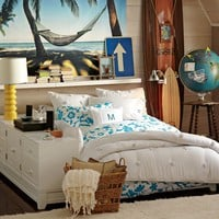 Ultimate Dresser Storage Bed Set