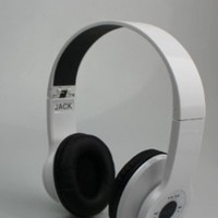 New AEC@brand smart Wireless Bluetooth Headphone white color---for all bluetooth device:Amazon:Electronics