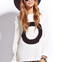 Menswear-Inspired O Sweater | FOREVER 21 - 2000051103