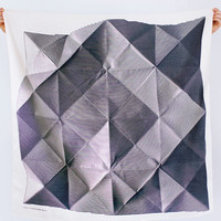 folded paper furoshiki - 
