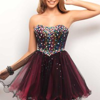 Blush 9535 at Prom Dress Shop