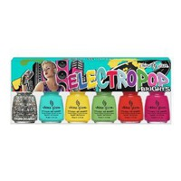 China Glaze Electropop Brights Set of 6 Collection