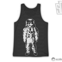 Space Kitty TankTop - Cat Tank x Singlet 126w