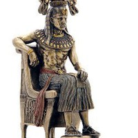 Egyptian Statue | Pharaoh With Ceremonial Headdress