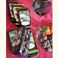Napa Valley Wine Lover's Chocolate Drops - Food Sets - Food & Wine - NapaStyle