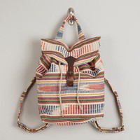 Natural Carpet Backpack | World Market