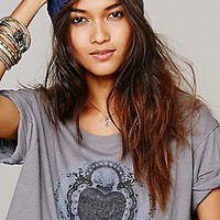 We The Free   Fearless Graphic Top at Free People Clothing Boutique