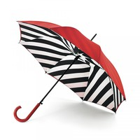 Diagonal Stripe Bloomsbury Umbrella | Totes | Bolsas | Lulu Guinness