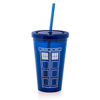 Doctor Who 18oz Acrylic Cup W/ Straw