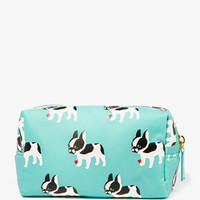 French Bulldog Cosmetic Pouch | FOREVER 21 - 1047904808