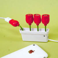 USB Flower Hub - Technology - See Jane Work